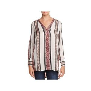 Cupcakes and Cashmere Labelle Tunic Top Printed